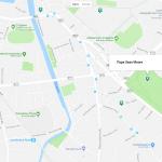 Музей печати на карте Дублина