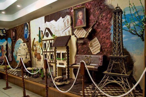 Музей шоколада Salon du Chocolat в Симферополе