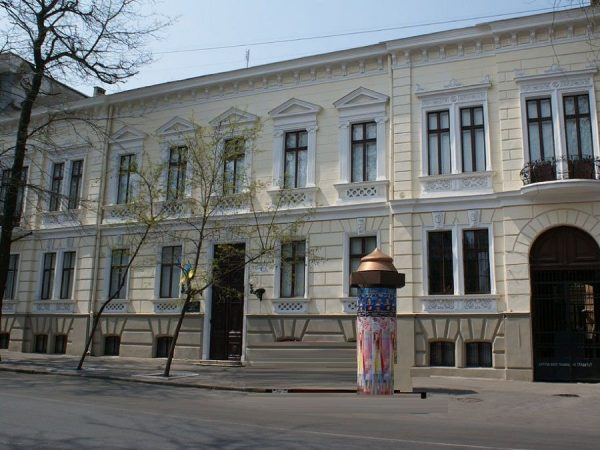 Музей во дворце Новикова в Одессе