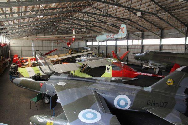 Музей воздухоплавания возле Котки