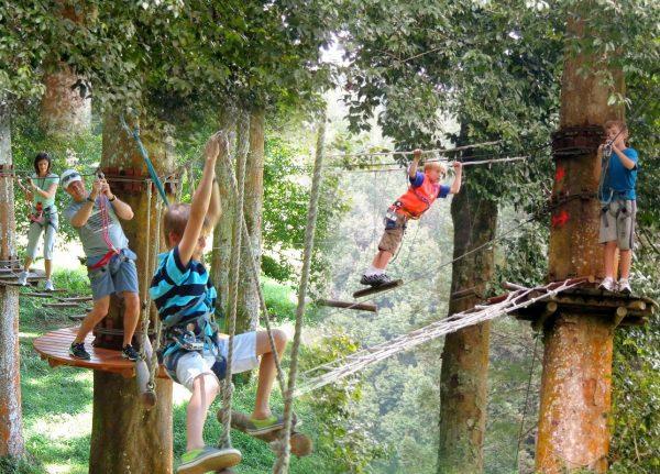 Парк приключений Бали-Тритоп
