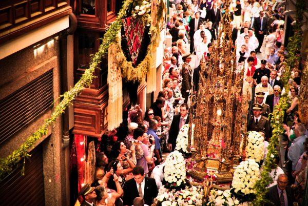 Праздник тела и крови Христовых в Толедо