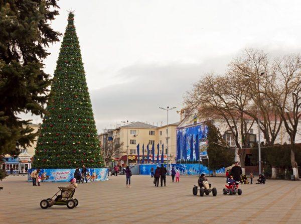 Новогодний период в Анапе