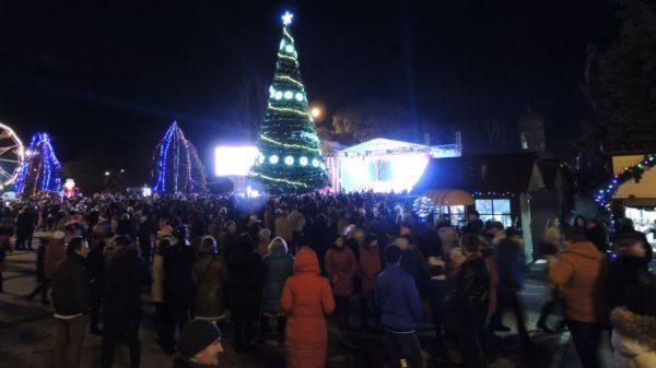 Новогодняя ёлка в Керчи