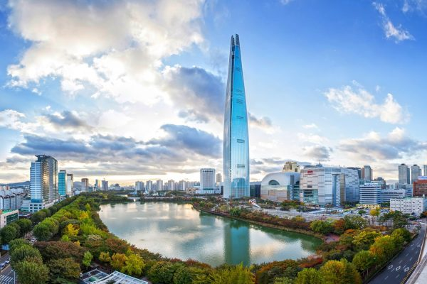 Lotte World Tower в Сеуле