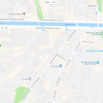 Обводной канал на карте Санкт-Петербурга