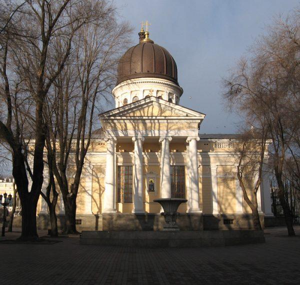 Одесский Спасо-Преображенский кафедральный собор в Украине