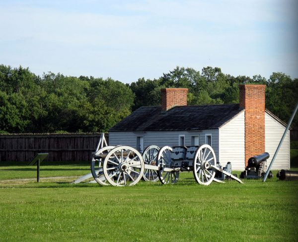 Один из объектов форта Джордж в Торонто