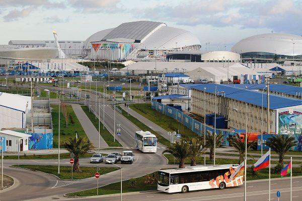 Олимпийский парк в городе Сочи
