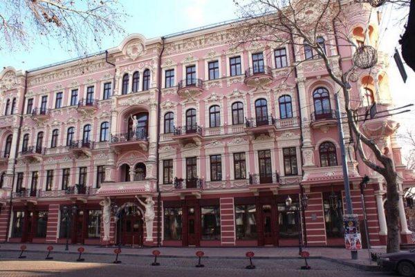 Отель «Бристоль» в Одессе
