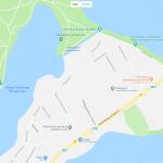 Озеро Хайлигер на карте Потсдама