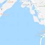 Озеро Тэй на карте Ханоя