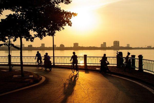 Озеро Тэй в Ханое