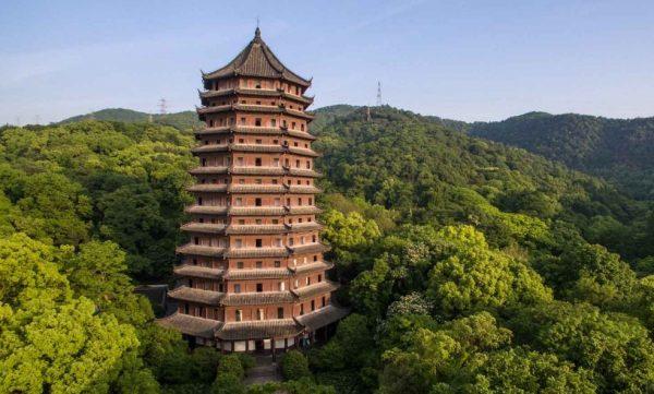 Пагода Шести Гармоний в Ханчжоу