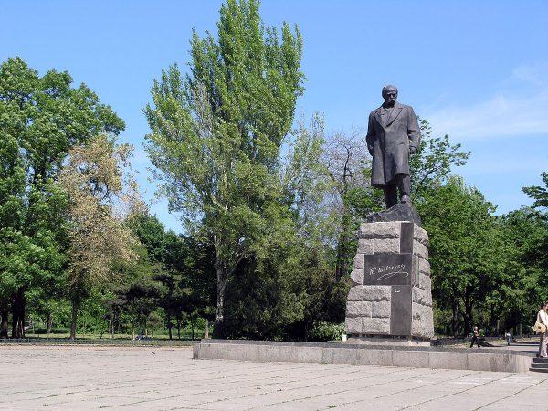 Памятник Тарасу Шевченко в парке Шевченко