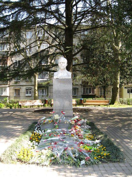 Памятник Юрию Гагарину в Сочи
