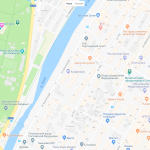 Парк «Ривьера» на карте Сочи