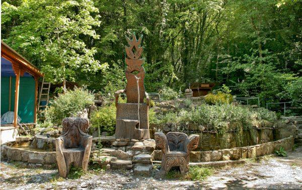 Парк «Берендеево царство» в Лазаревском