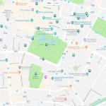 Парки Дублина на карте