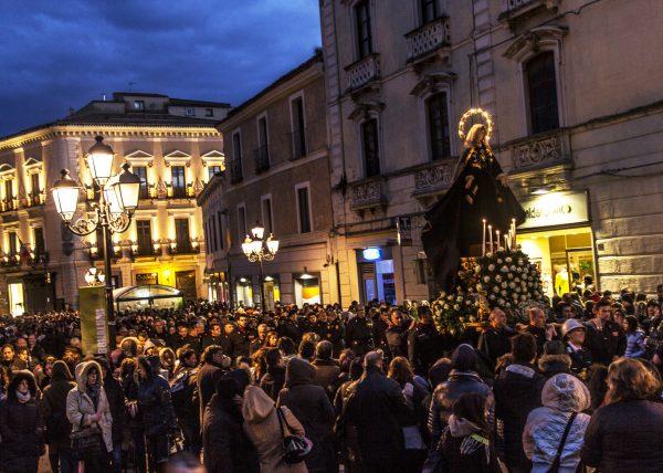 Пасхальное шествие в Палермо