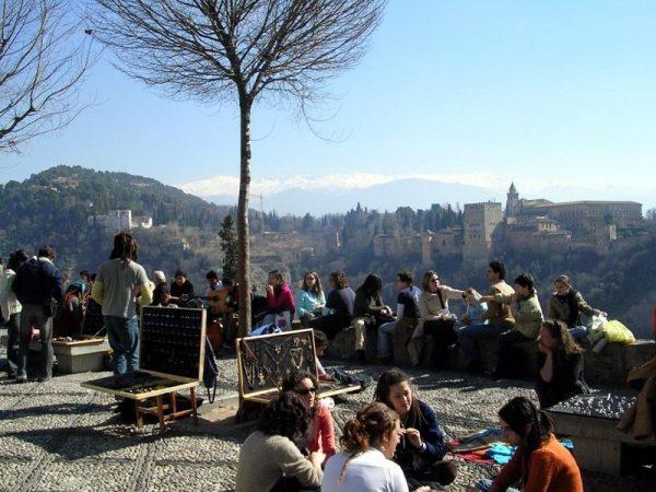 Смотровая площадка святого Николая в Гранаде
