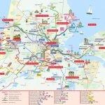 Подробная карта Гааги