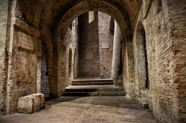Подземелья крепости Рокка Паолина