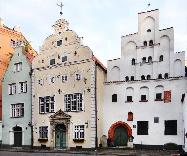 «Три брата» в столице Латвии