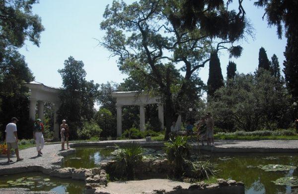 Приморский парк имени Гагарина в Ялте