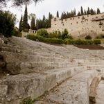 Разрушенные ступени Римского театра