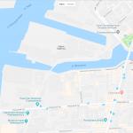 Река Большая Нева на карте Санкт-Петербурга