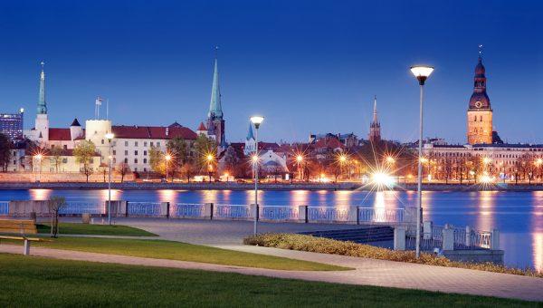 Вид на улицы Риги