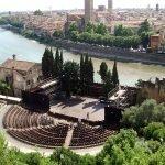Римский театр с высоты