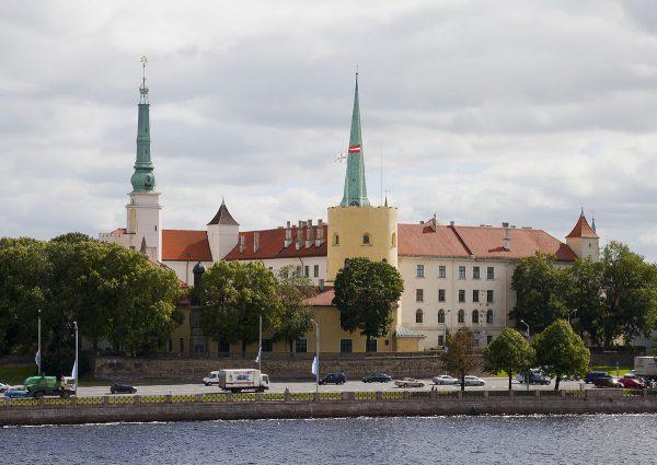 Рижский замок в Латвии