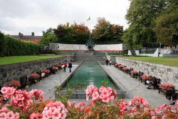 Сад воспоминаний в Дублине