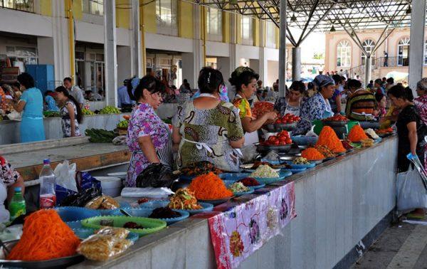 Сиабский рынок в Самарканде