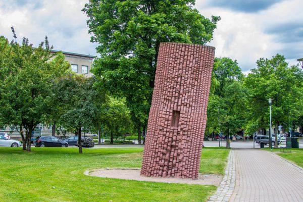 Скульптура «Жизнеутверждающее присутствие»