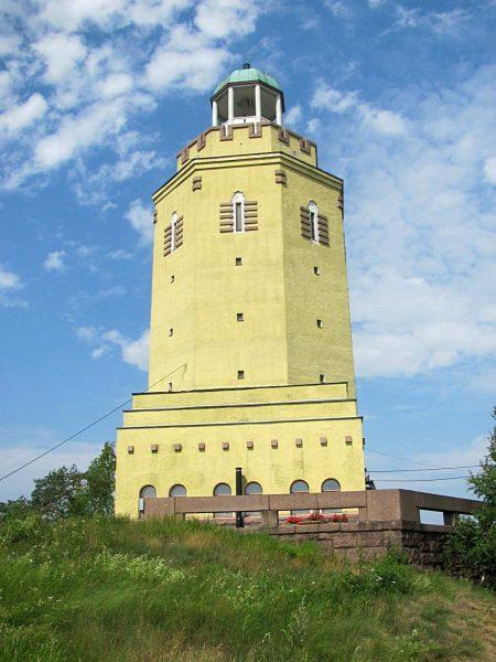 Смотровая башня Хауккавуори в Котке
