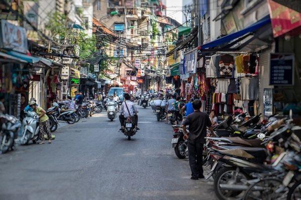 Старый квартал «36 улиц» в Ханое