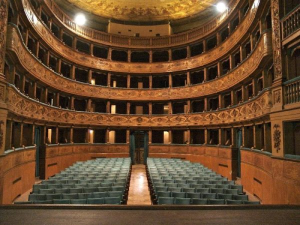 Театр Павоне внутри