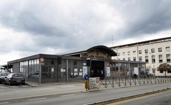 Терминал автовокзала в Перудже