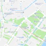 Торговые центры Ханчжоу на карте