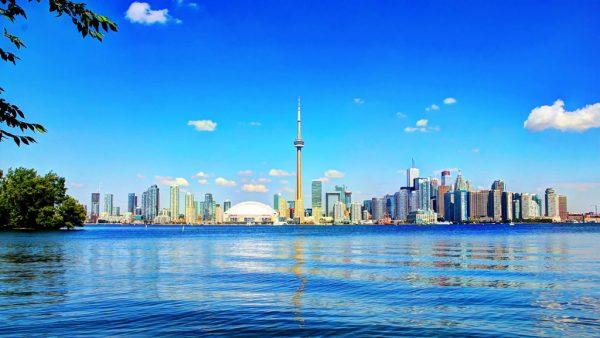 Вид на город Торонто