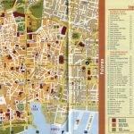 Туристическая карта достопримечательностей Палермо
