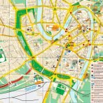 Туристическая карта Вероны