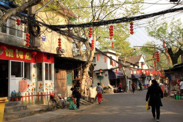 Улица Феникса в Ханчжоу