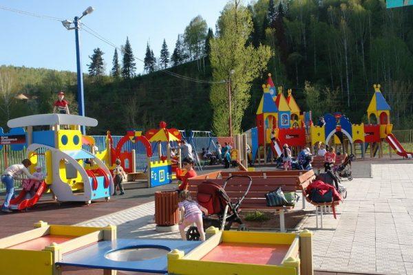 Городской парк культуры и отдыха Горно-Алтайска
