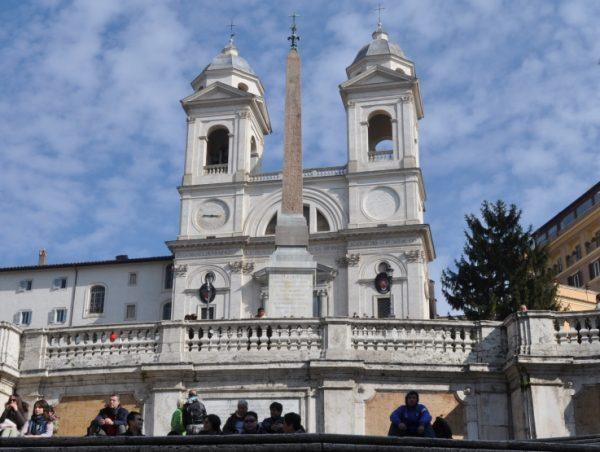 Церковь Тринитадеи-Монти