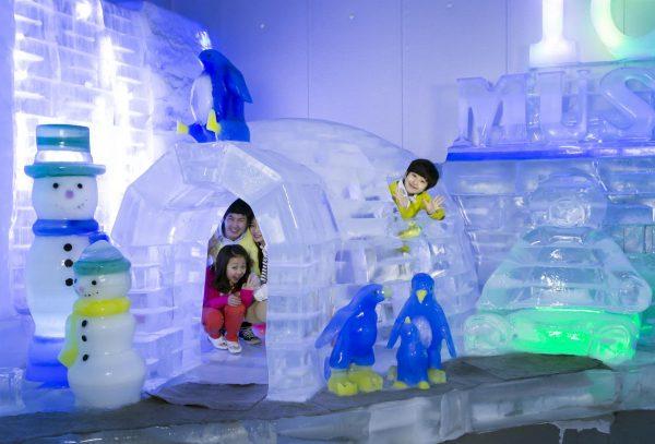 В залах Ледового музея Сеула