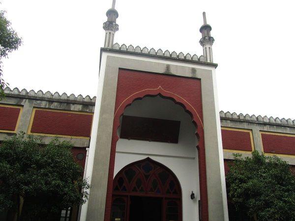 Вход в мечеть Феникс в Ханчжоу